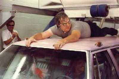 Q100 Car Wash Radio Stunt invented by Uncle Bob